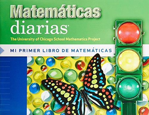 9780076100347: Matematicas Diarias Mi Primer Libro De Matematicas Kindergarten Workbook
