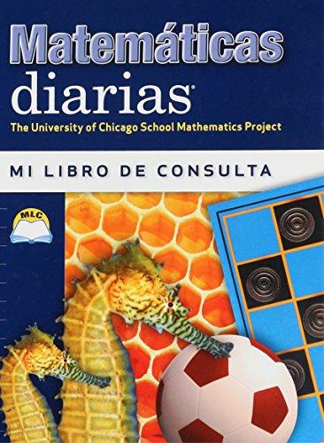 9780076100552: Mathematicas Diarias Mi Libro De Consulta (The University of Chicago School Mathematics Project)