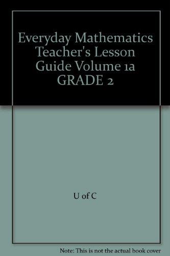 9780076100583: Everyday Mathematics Teacher's Lesson Guide Volume 1a GRADE 2