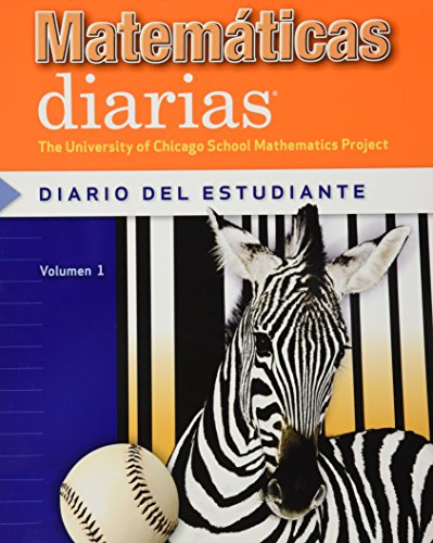 9780076100699: Everyday Mathematics, Grade 3, Student Math Journal 1/Diario del estudiante (Spanish Edition)