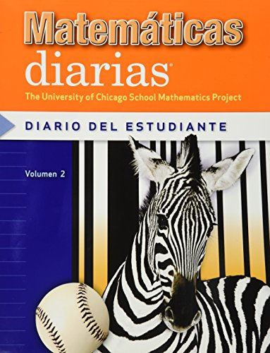 Matem?ticas Diarias, Grado 3, Diario Del Estudiante,: UCSMP