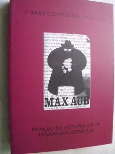 9780076100750: MANUAL DE HISTORIA DE LA LITERATURA ESPAÑOLA.
