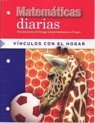 9780076100781: Matematicas Diarias: Vinculos Con El Hogar
