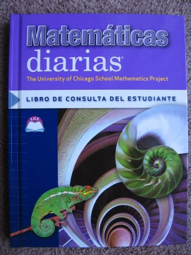 9780076101139: Matematicas Diarias Libro De Consulta Del Estudiante (The University of Chicago School Mathematics Project)