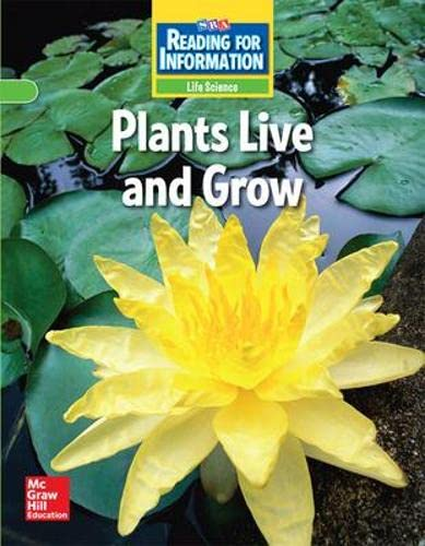 9780076102068: Reading for Information - Approaching Student Reader, Life - Plants Live and Grow - Grade 2