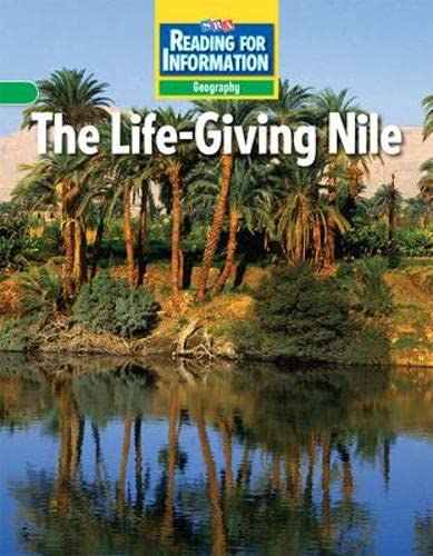 Reading for Information - Approaching Student Reader, Geography - The Life-Giving Nile - Grade 6 (...