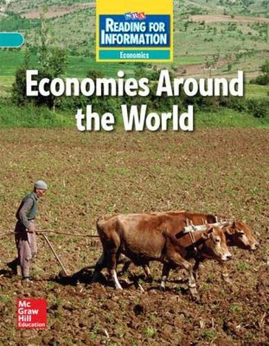 9780076103188: Reading for Information - On Level Student Reader, Economics - Economies Around the World - Grade 6