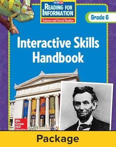 9780076103348: Reading for Information - Interactive Skills Handbook (6-Pk) - Grade 6
