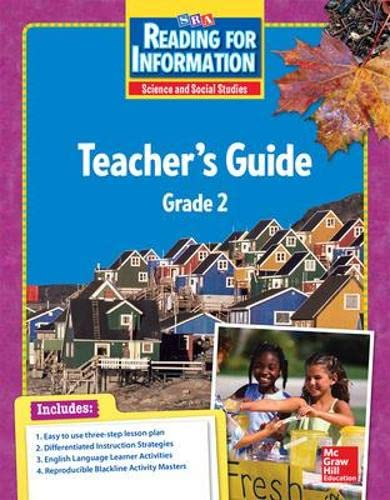Reading for Information - Teacher Guide -: Sra/Mcgraw-Hill