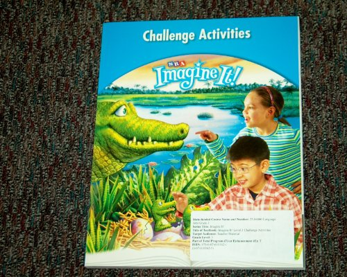 Imagine It! Challenge Activities Level 3: SRA/McGraw Hill