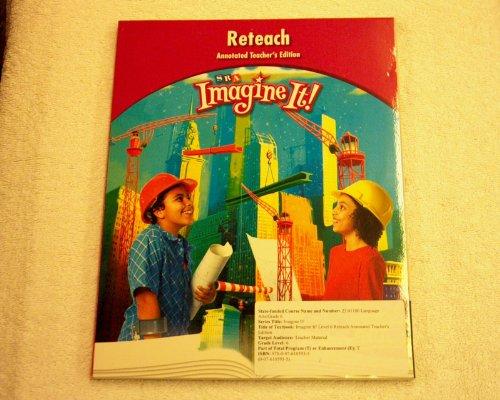 9780076103935: SRA Imagine It ! ATE Reteach 6th grade