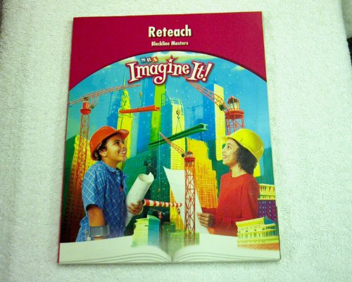 9780076104000: SRA Imagine It! Reteach Blackline Masters Level 6/ Grade 6 Teacher Material Textbook Paperback