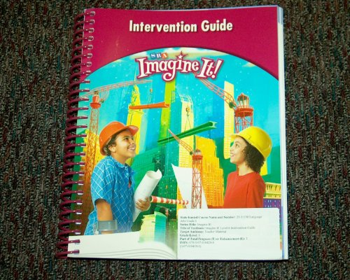 9780076104208: SRA Imagine It! Intervention Guide Level 6