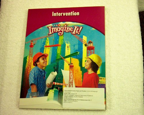 9780076104253: SRA Imagine It! Intervention Student Material Language Arts/Grade 6/Level 6 Workbook