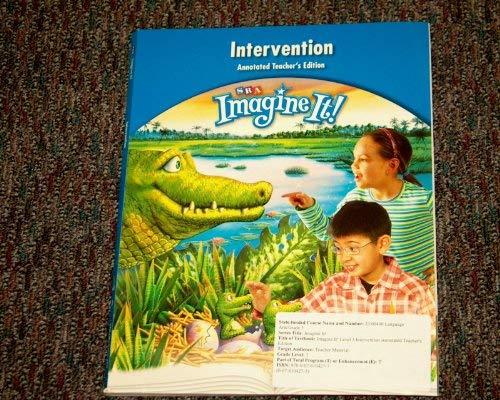 SRA Imagine It! Intervention: SRA/McGraw Hill