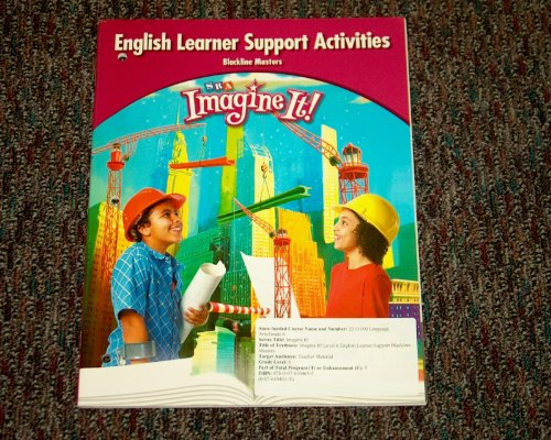 SRA Imagine It! English Learner Support Activities: SRA McGraw-HIll