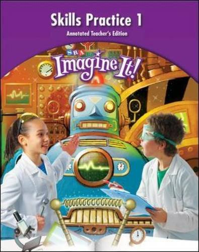 9780076104949: Imagine it! - Skills Practice Annotated 1 - Grade 4 (Leap into Phonics)