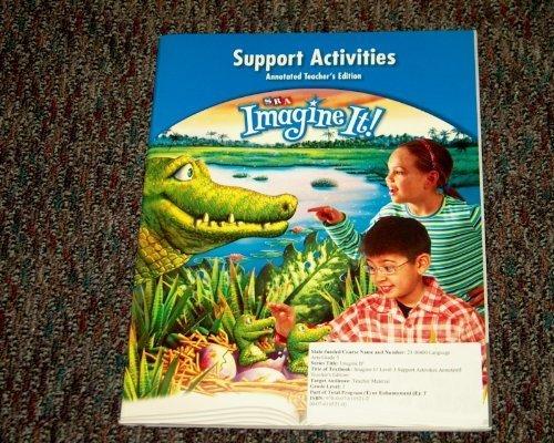 9780076105212: Grade 3 Support Activities Annotated Teacher's Edition Grade 3 (SRA Imagine It!)