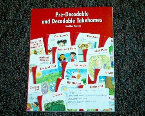 9780076105793: Pre-decodable and Decodable Takehomes Blackline Masters Level K (SRA Imagine It!)