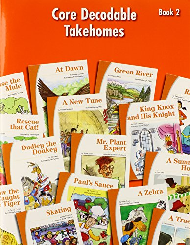 9780076106998: Core Decodable Takehomes, Book 2 (Sraonline.com, Level 1)