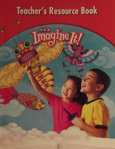 9780076109661: SRA Imagine it! Teacher's Resource Book Blackline Masters Level K