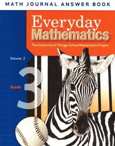 9780076110445: Everyday Mathematics: Grade 3 Math Journal Answer Book, Volume 2