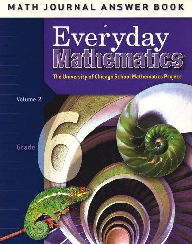 9780076110452: Everyday Mathematics: Math Journal Answer Book, Grade 4, Vol. 2 (University of Chicago School Mathematics Project)