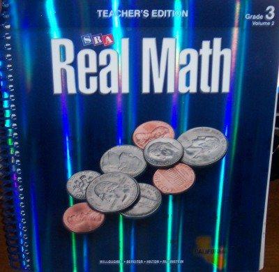 9780076111114: SRA Real Math California Teacher's Edition Grade 3 Volume 2