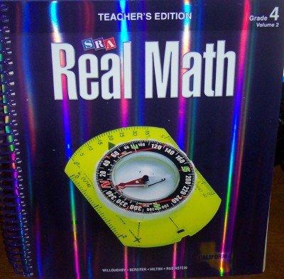 9780076111138: SRA Real Math California Teacher's Edition Grade 4 Volume 2