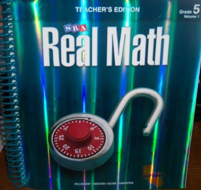 9780076111145: SRA Real Math California Teacher's Edition Grade 5 Volume 1