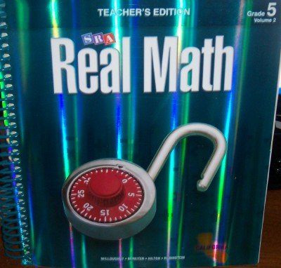 9780076111152: SRA Real Math California Teacher's Edition Grade 5 Volume 2