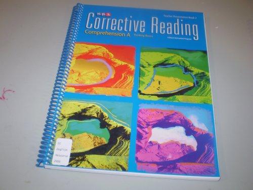 9780076111589: Corrective Reading, Comprehension A: Thinking Basics Teacher Presentation, Book 2