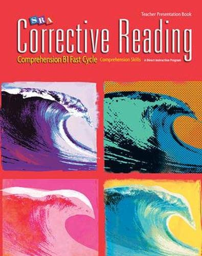 9780076111725: Comprehension B1 Fast Cycle: Teacher Presentation Book (CORRECTIVE READING DECODING SERIES)