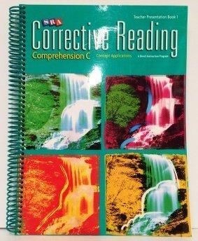 9780076111923: SRA Corrective Reading Teacher Presentation Book 1 : Comprehension C
