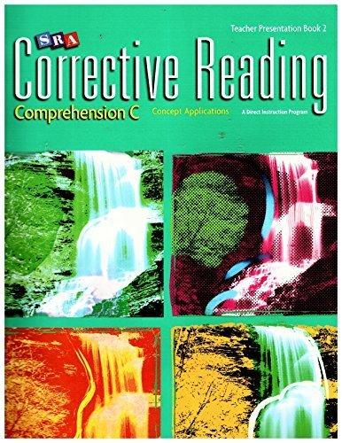 9780076111930: SRA Corrective Reading Teacher Presentation Book 2 : Comprehension C