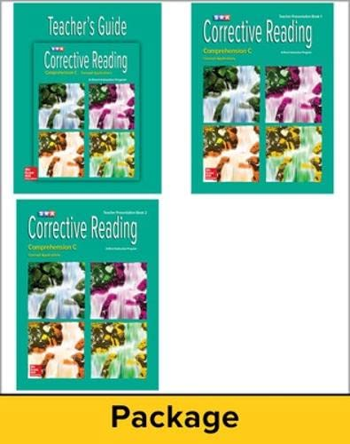 Corrective Reading Comprehension C: Concept Applications (0076112012) by Phyllis Haddox; Siegfried Engelmann; Susan Hanner