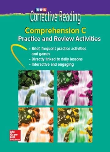 9780076112036: Corrective Reading Comprehension Level C, Student Practice CD Package (CORRECTIVE READING DECODING SERIES)