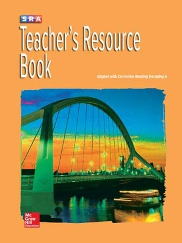 9780076112098: Corrective Reading Decoding Level A, Teacher Resource Book (CORRECTIVE READING DECODING SERIES)