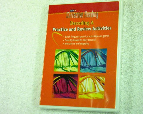 9780076112142: Corrective Reading Decoding Level A, Student Practice Package (Read to Achieve)