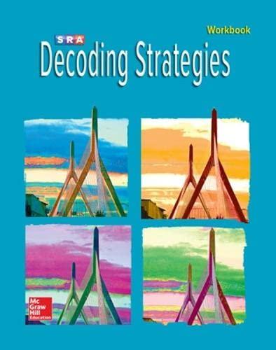 Corrective Reading Decoding B1 - Student Workbook: SRA/MCGRAW-HILL