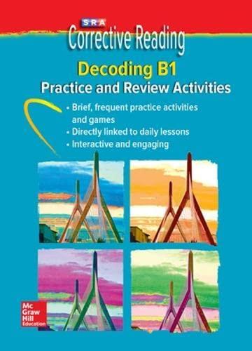 9780076112241: Corrective Reading Decoding Level B1, Student Practice (Corrective Reading Decoding Series)