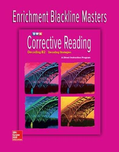 9780076112340: Decoding B2 - Enrichment Blackline Masters (Corrective Reading Decoding Series)