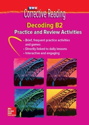 9780076112357: Corrective Reading Decoding Level B2, Student Practice CD Package (CORRECTIVE READING DECODING SERIES)
