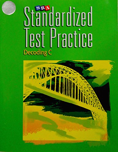 9780076112449: SRA Standard Test Practice Decoding C Aligned with Corrective Reading