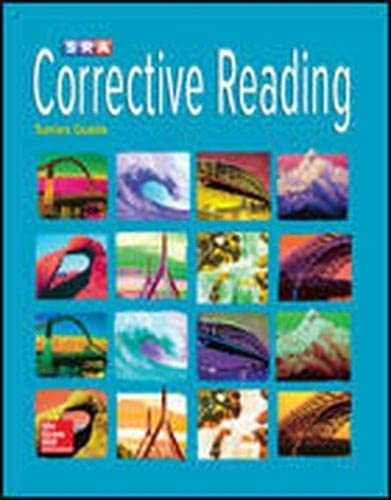 9780076112531: Corrective Reading Comprehension, Teaching Tutor Software (Corrective Reading Decoding Series)
