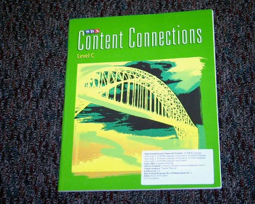 9780076112647: SRA Corrective Reading Content Connections Level C