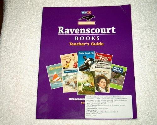 9780076113156: SRA Ravenscourt Books Teacher's Guide Level B2 Overcoming Adversity Paperback Book