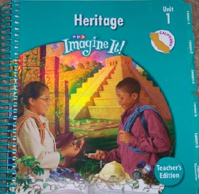 9780076114498: Imagine It! Heritage Level 5, Unit 1 (California Teacher's Edition)