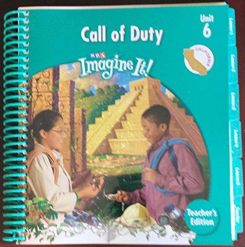9780076114542: SRA Imagine It! Call of Duty Unit 6 Level 5 Teachers Edition (California) (SRA Imagine It, Unit 6 Level 5)
