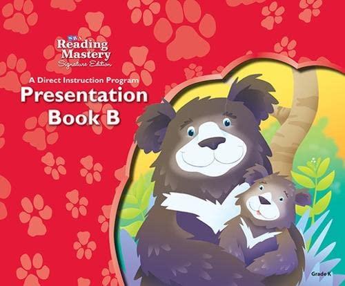 9780076121953: Reading Mastery Reading/Literature Strand Grade K, Presentation Book B (Reading Mastery Level VI)